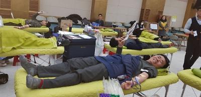 헌혈로 전하는 사랑의 온도 36.5℃