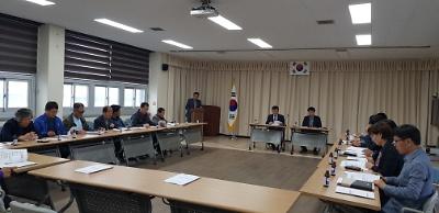 문화체육회 임시총회 개최