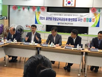 2019년 읍면별 마을공동체 활성화를 위한 경청올래