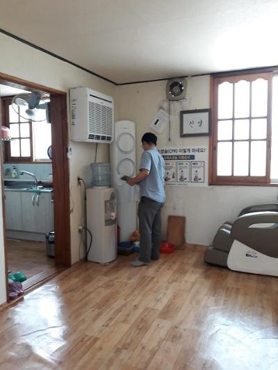 폭염대비 마을 경로당 점검