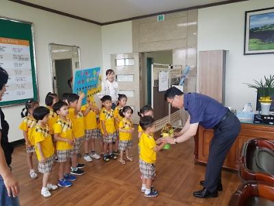 화원공립어린이집 화분나눔캠페인 행사 개최