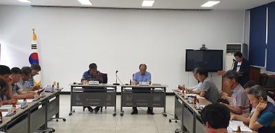 7월중 제2차 이장회의 개최