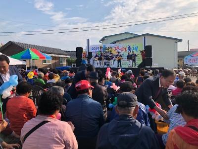 2019년 황산남리 전통시장 장터축제